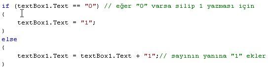 c# sayı ekleme