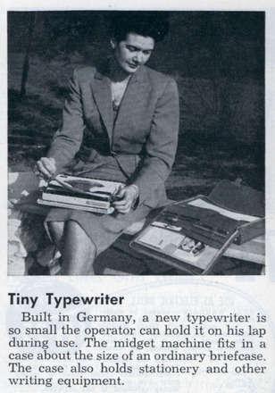 Daktilolar bir zamanların laptoplarıydı...