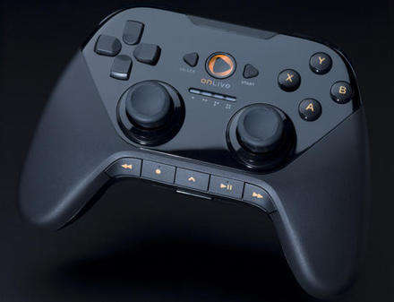ONLIVE Microconsole Kontrol