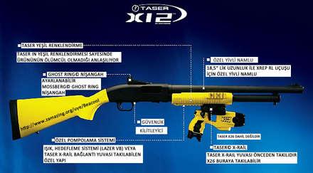 Taser X12