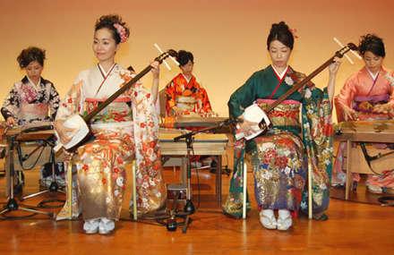Geleneksel Japon Müziği
