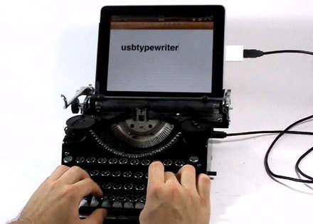 İşte klavye~daktilomuz!