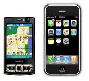 n95 vs iPhone