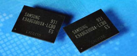 Samsung 3-bit, 20nm 64Gb NAND Flash