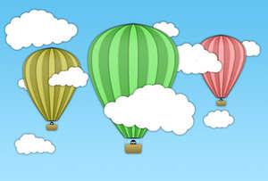 sıcak hava balonu