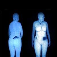 vücudu gösteren x-ray mercek