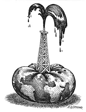 Petrol ile birlikte tükenen dünya
