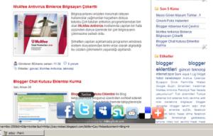 bookmark widget