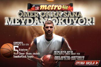 Metro Enerjini Göster Basketbol Topu Kazan
