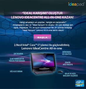 İdeal Karışımı oluştur, Lenovo kazan!