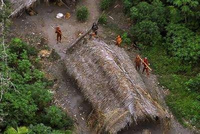 Amazon ormanlarında yaşayan insanlar