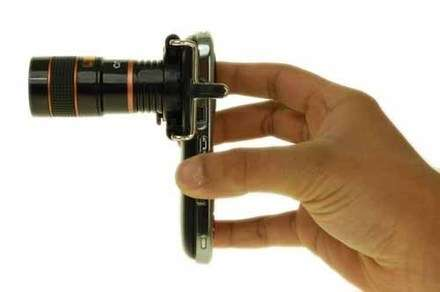 8x zoom objektif