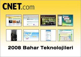 cnet 2008 bahar teknoloji önizlemesi