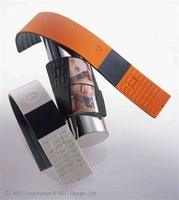 NEC Tag Cellphone Concept