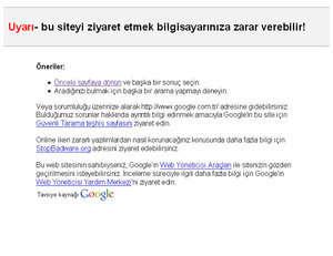 zararlı site google :)