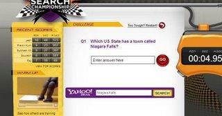 Yarışmanın sponsoru Yahoo