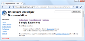 Google Chrome - buildbot monitor Eklentisi