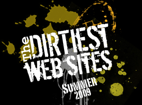 dirty sites 2009