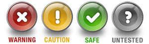 norton safe web işaretler