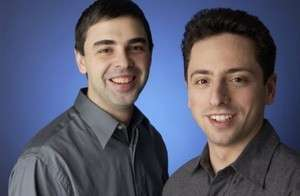 sergey brin and larry page - google