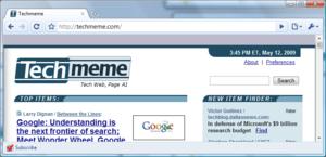 Google Chrome - Google Reader Eklentisi