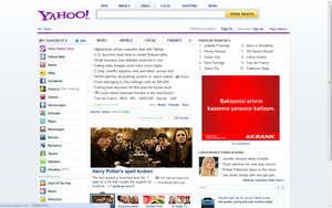 Yahoo Yeni Arayüz