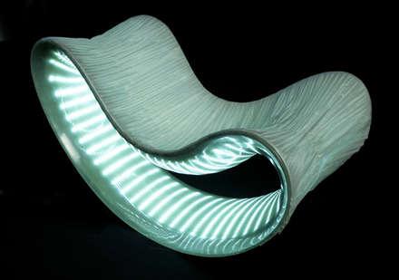 ışıklı sandalye