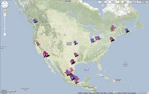 google map domuz gribi