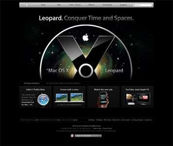 apple.com anasayfa, 2007 haziran