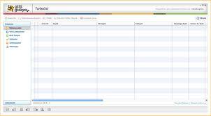 Turbolist ekranı