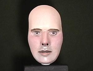 Bu imaj maskenin önü mü yoksa arkası mı? Şizofrenler biliyor. Fotoğraf: Thomas Papathomas