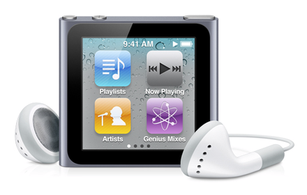Yeni iPod Nano Modeli