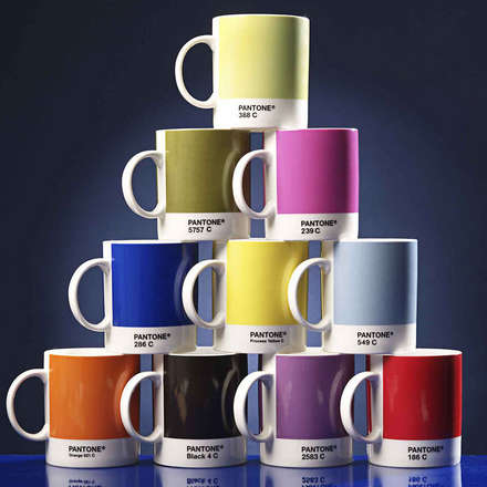Pantone Renklerden Kupalar