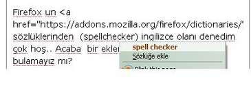 firefox dictionaries