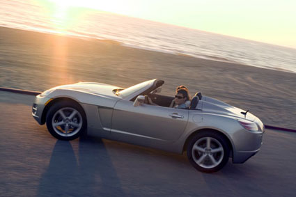 AMP Motor Works is offering to convert some 300 Saturn Sky convertibles to all-electric drive for $25,000 each, with a $10,000 deposit. The car has a range of up to 150 miles.
