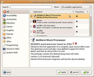 program ekle kaldır | ubuntu