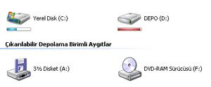 Vista driver  icons