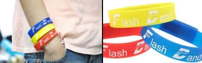 USB Flash Drive with Silicone Bracelet