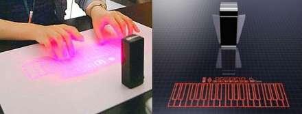 Virtual Laser Piano