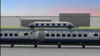 Çinlilerin yeni konsept treni!