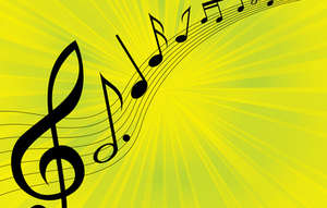 Music Melody Background Vector Download