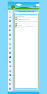 Social Stream HTML5 Template
