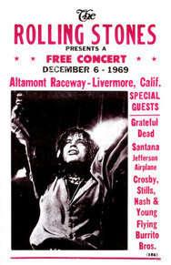 Altamont Konseri'nin afişi