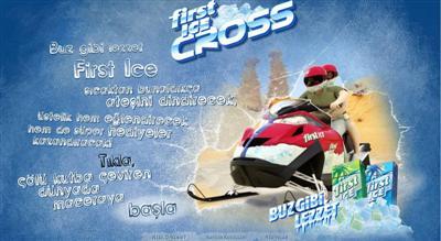 first ice cross