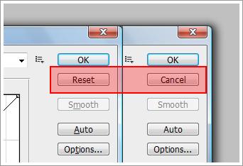 Photohop Ekranlarındaki Reset Butonu