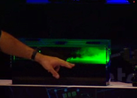Intel demonstrated laminar jet cooling