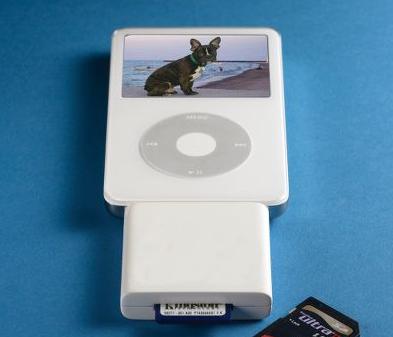 Dijital Kameranızdan iPod'a Transfer Cihazı