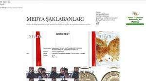 İnternet sitesi ön görüntüsü