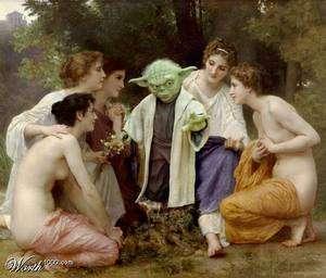 Yoda hikâye anlatırken