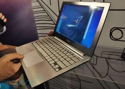 ASUS UX21 Ultra ince dizüstü bilgisayar